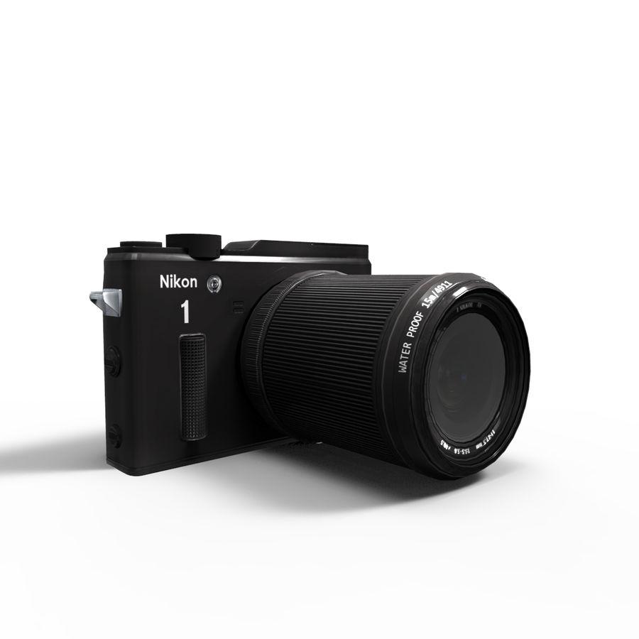 2014Nikon 1 AW1 royalty-free 3d model - Preview no. 9