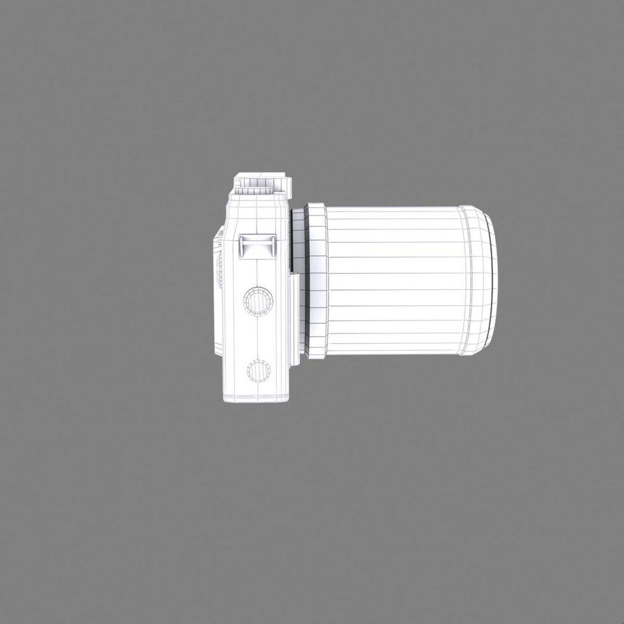2014Nikon 1 AW1 royalty-free 3d model - Preview no. 18