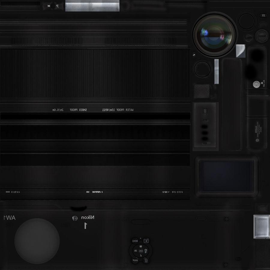 2014Nikon 1 AW1 royalty-free 3d model - Preview no. 19