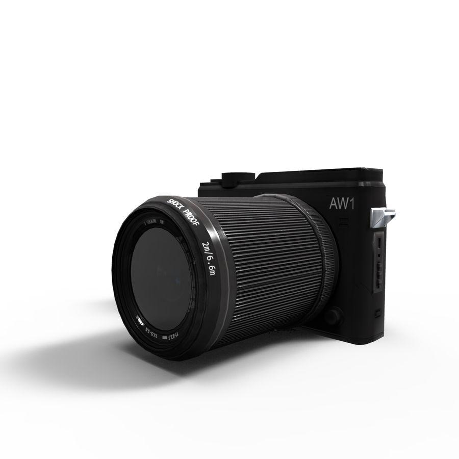 2014Nikon 1 AW1 royalty-free 3d model - Preview no. 11