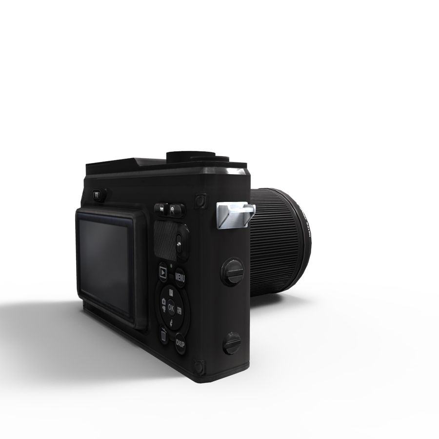 2014Nikon 1 AW1 royalty-free 3d model - Preview no. 6