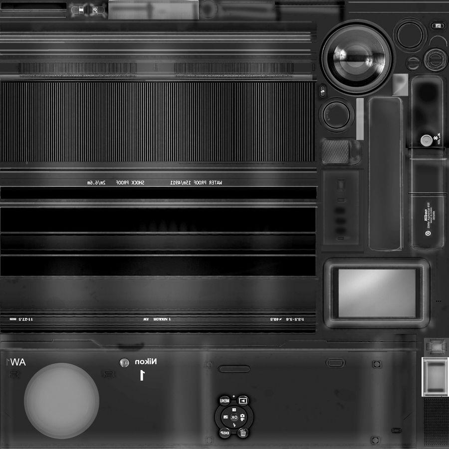 2014Nikon 1 AW1 royalty-free 3d model - Preview no. 21
