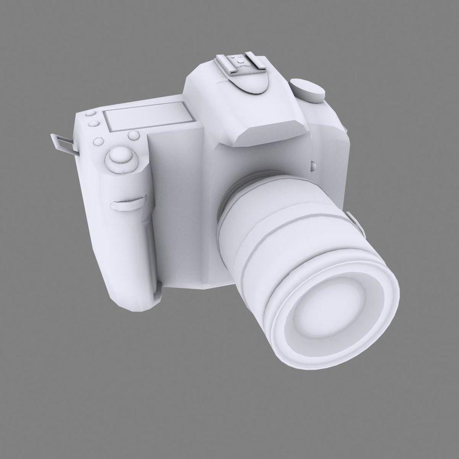 Nikon D90 royalty-free 3d model - Preview no. 15