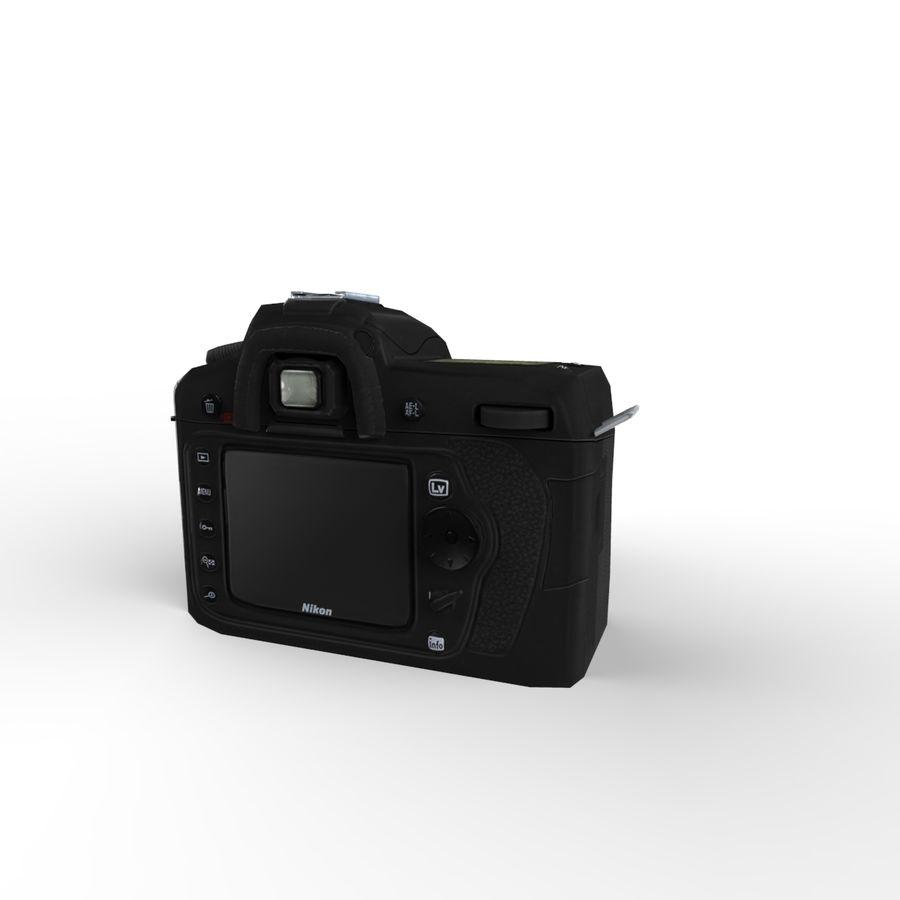Nikon D90 royalty-free 3d model - Preview no. 5
