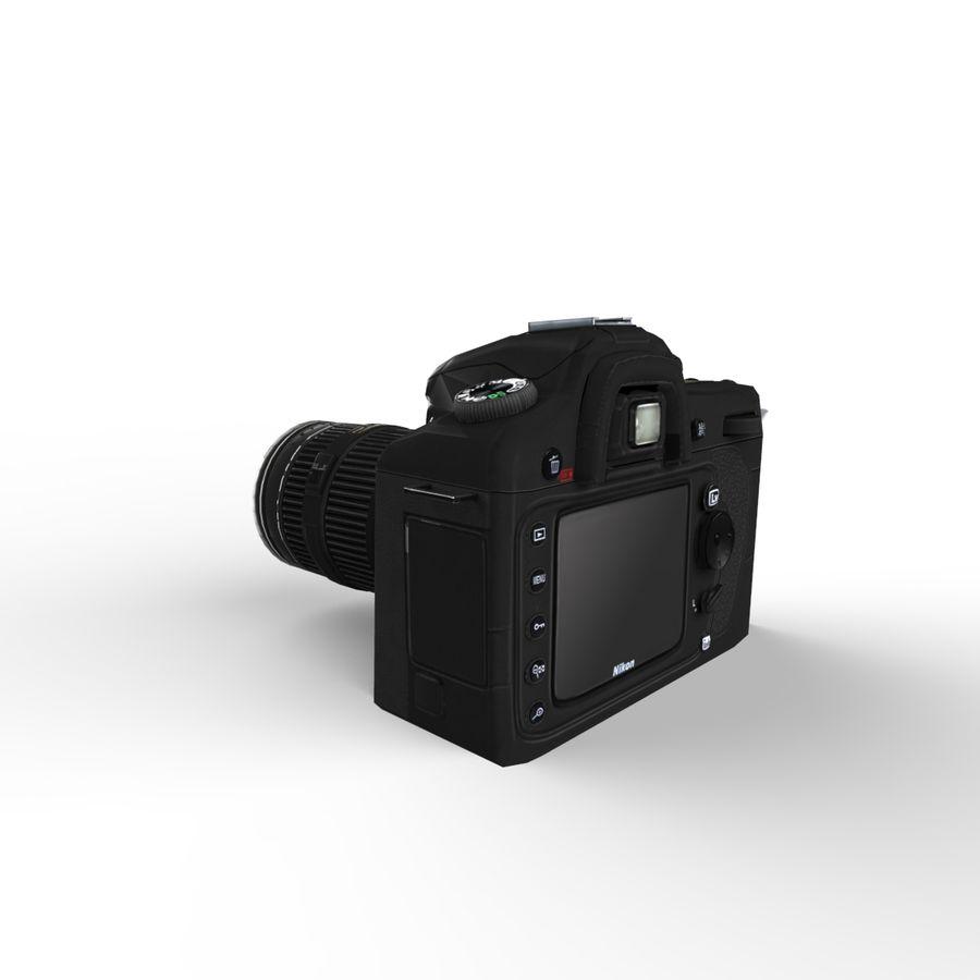 Nikon D90 royalty-free 3d model - Preview no. 12