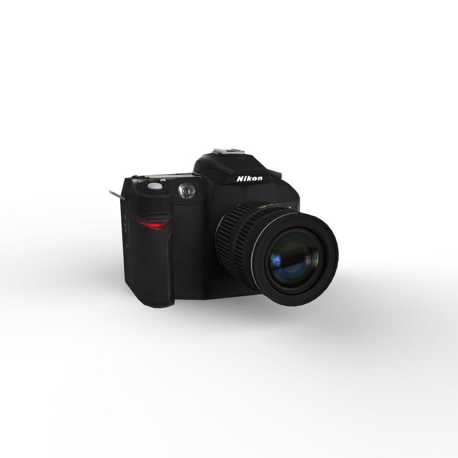 Nikon D90 royalty-free 3d model - Preview no. 9