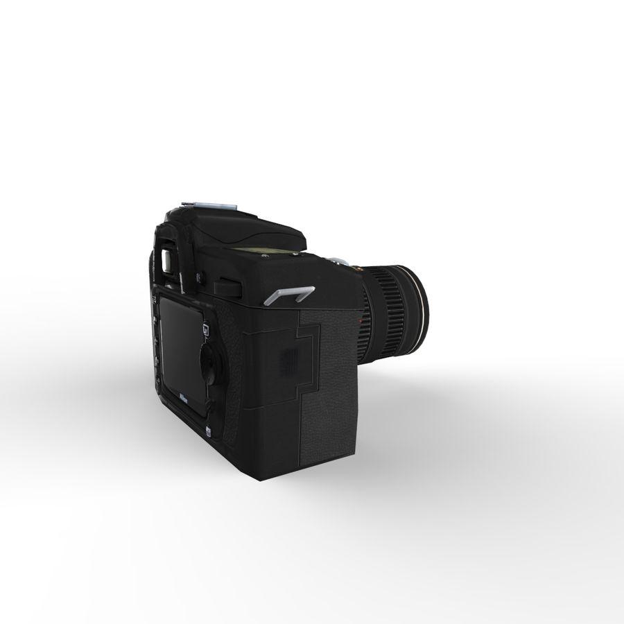 Nikon D90 royalty-free 3d model - Preview no. 6