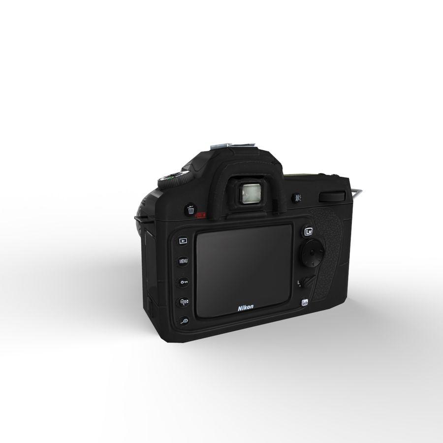 Nikon D90 royalty-free 3d model - Preview no. 3