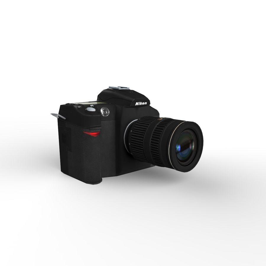 Nikon D90 royalty-free 3d model - Preview no. 8