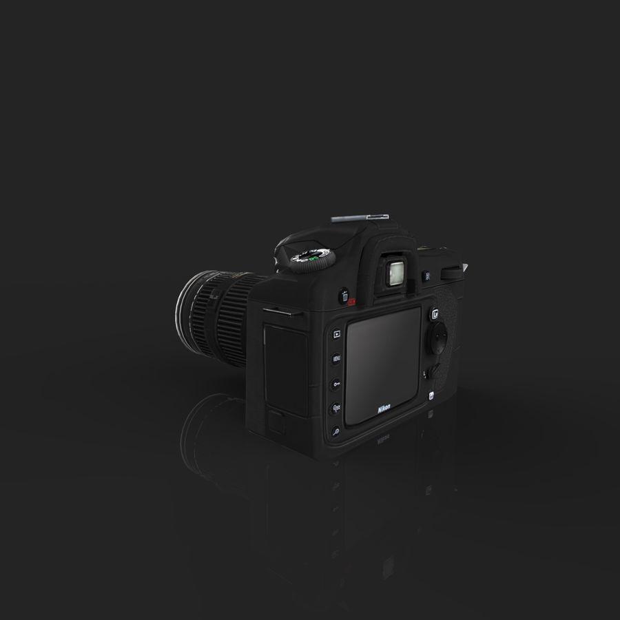 Nikon D90 royalty-free 3d model - Preview no. 2