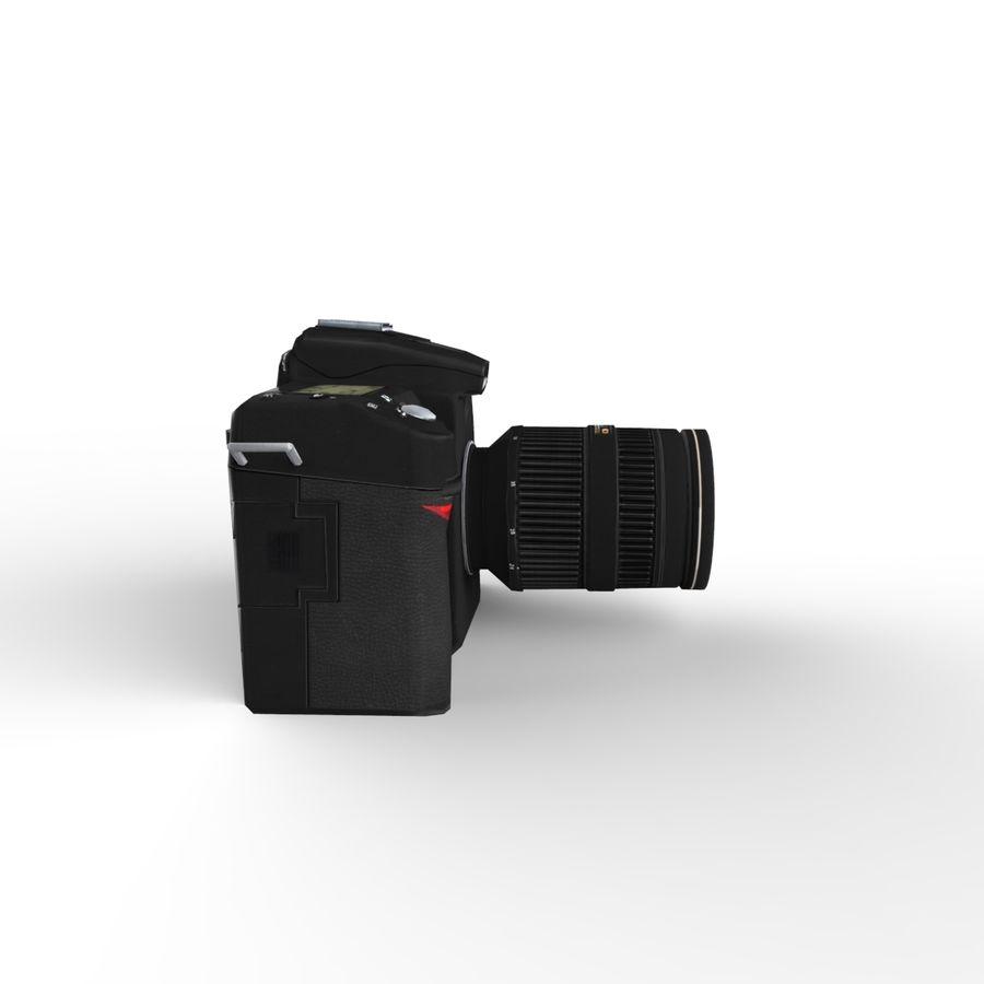 Nikon D90 royalty-free 3d model - Preview no. 7