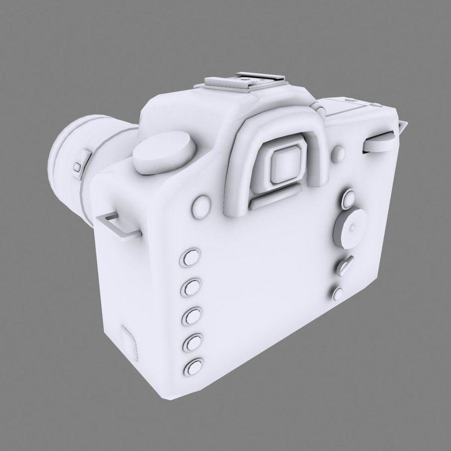 Nikon D90 royalty-free 3d model - Preview no. 13