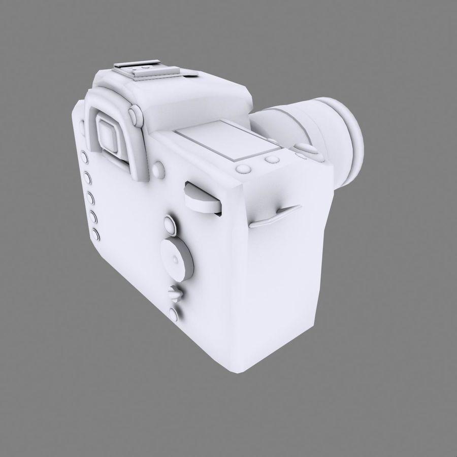 Nikon D90 royalty-free 3d model - Preview no. 14