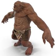 Jaskiniowy Troll 3d model