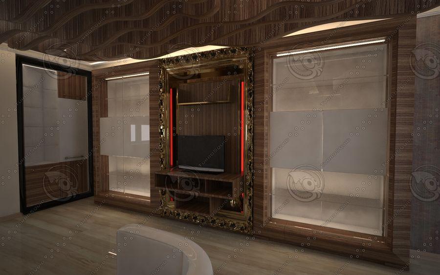 Diseño de interiores de sala de oficina de lujo royalty-free modelo 3d - Preview no. 4