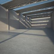 Prefab-faciliteit leegmaken 3d model
