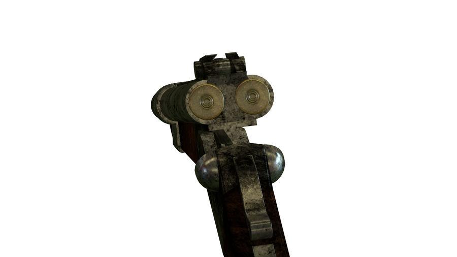 Shot弹枪 royalty-free 3d model - Preview no. 12