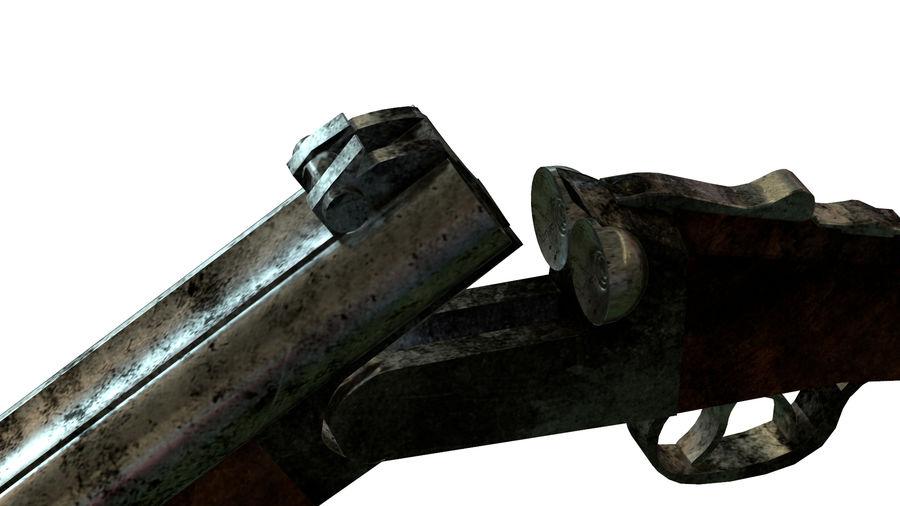 Shot弹枪 royalty-free 3d model - Preview no. 10