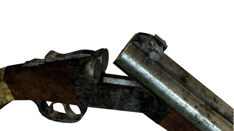 Shot弹枪 royalty-free 3d model - Preview no. 13