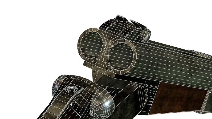 Shot弹枪 royalty-free 3d model - Preview no. 14