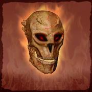 混沌とした頭蓋骨 3d model