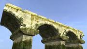 Vecchio ponte di pietra 3d model