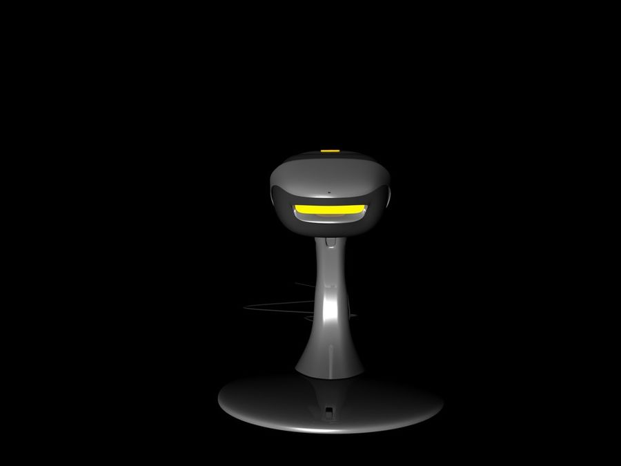 scanner royalty-free 3d model - Preview no. 5