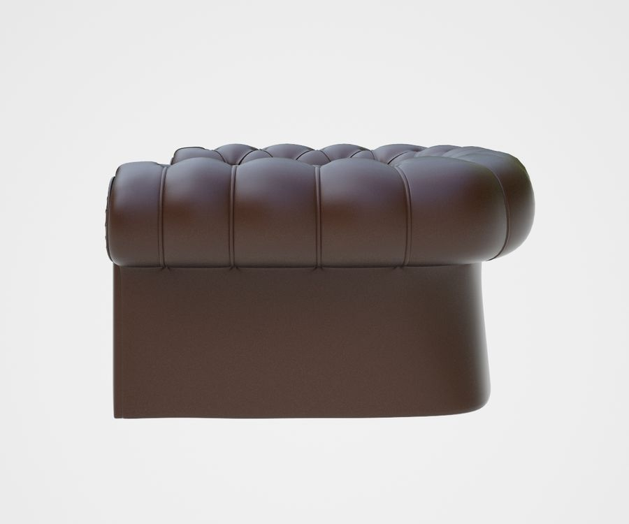fauteuil (1) royalty-free 3d model - Preview no. 6