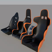 Racing Seats 3d model
