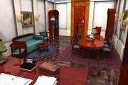 Boss room 3d model