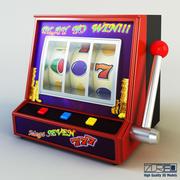 Machine de jeu 3d model