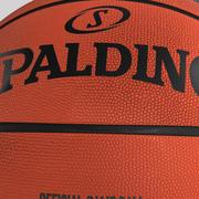 Piłka do koszykówki Star_orange 3d model