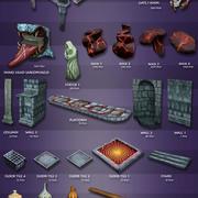 Cripta risorse 3d model