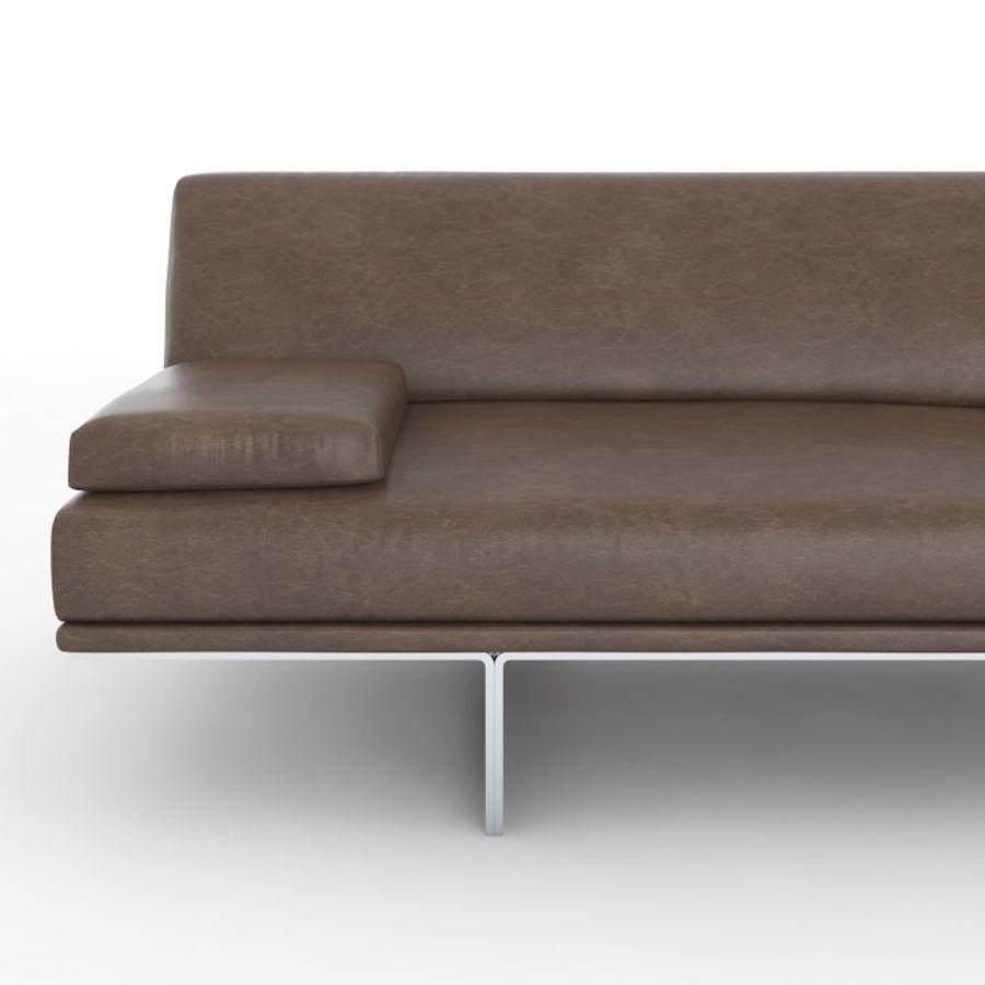 Sofá Blumun de Busnelli royalty-free modelo 3d - Preview no. 5