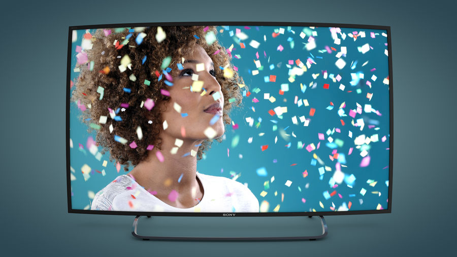 Sony Bravia Smart TV - KDL Series royalty-free 3d model - Preview no. 4