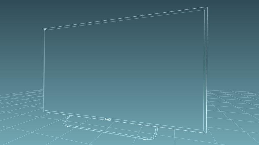 Sony Bravia Smart TV - KDL Series royalty-free 3d model - Preview no. 9