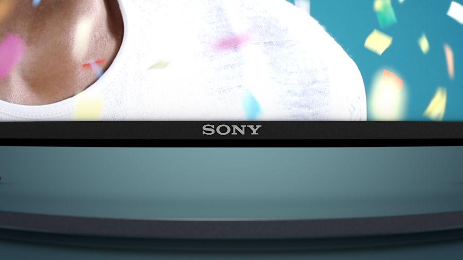 Sony Bravia Smart TV - KDL Series royalty-free 3d model - Preview no. 3