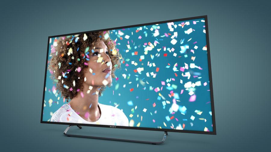 Sony Bravia Smart TV - KDL Series royalty-free 3d model - Preview no. 1