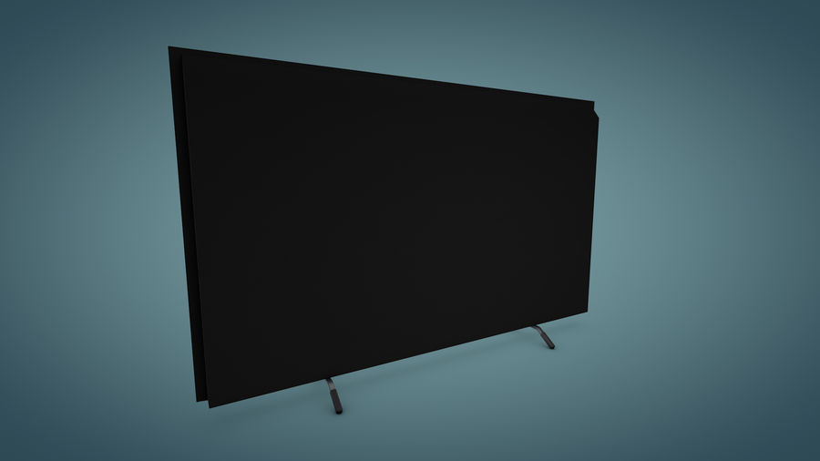 Sony Bravia Smart TV - KDL Series royalty-free 3d model - Preview no. 5