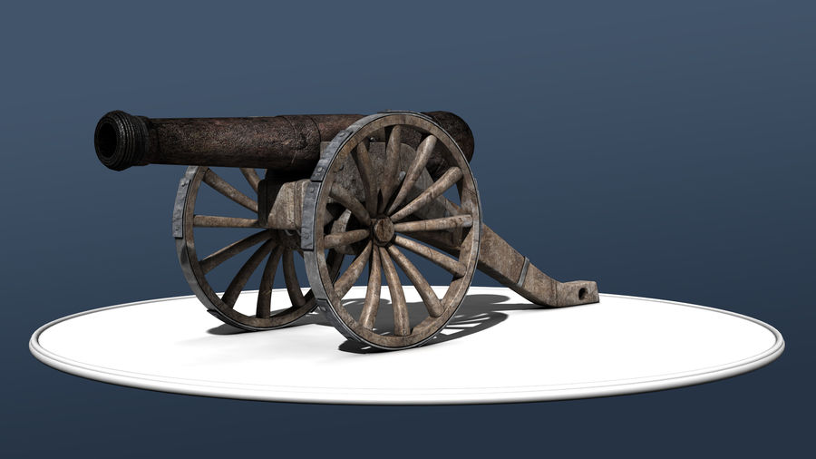 Standard Canon royalty-free 3d model - Preview no. 1
