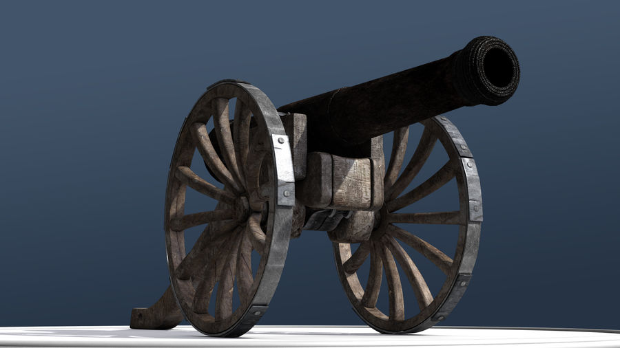Standard Canon royalty-free 3d model - Preview no. 3