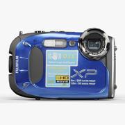 Fujifilm FinePix XP60蓝色坚固耐用的数码相机 3d model