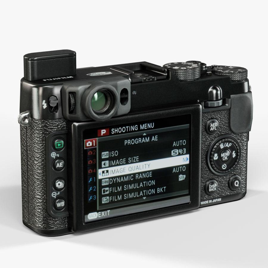 Fujifilm FinePix X20先进的紧凑型数码相机 royalty-free 3d model - Preview no. 7