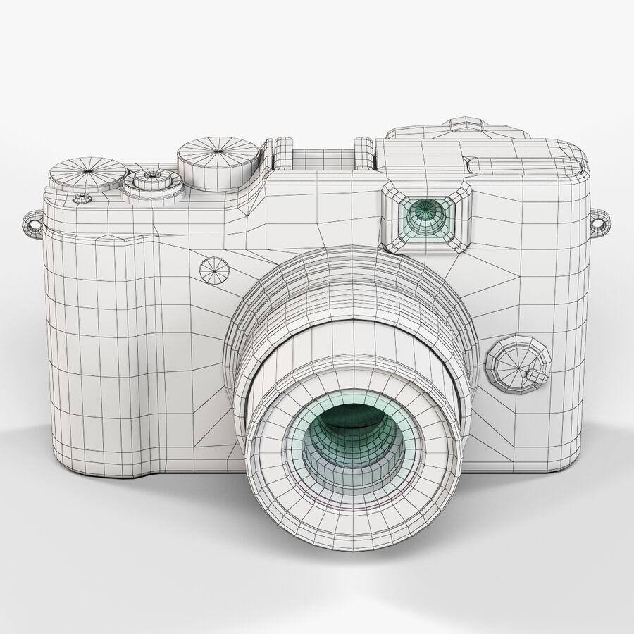 Fujifilm FinePix X20先进的紧凑型数码相机 royalty-free 3d model - Preview no. 8