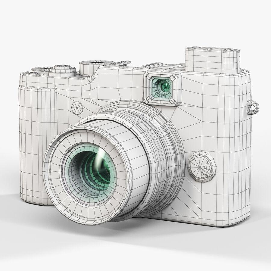 Fujifilm FinePix X20先进的紧凑型数码相机 royalty-free 3d model - Preview no. 9