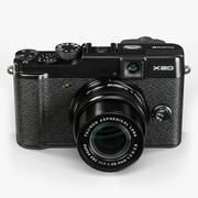 Fujifilm FinePix X20 avancerad kompakt digital kamera 3d model