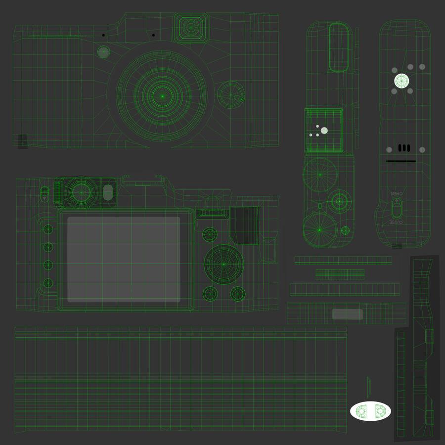 Fujifilm FinePix X20先进的紧凑型数码相机 royalty-free 3d model - Preview no. 20