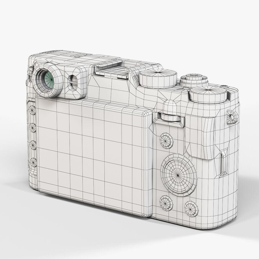 Fujifilm FinePix X20先进的紧凑型数码相机 royalty-free 3d model - Preview no. 10