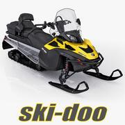 Snowmobile Ski-Doo Expedition SE 2015 3d model