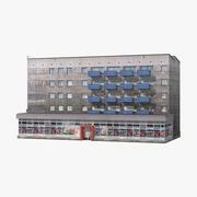 Byggnad 01 3d model
